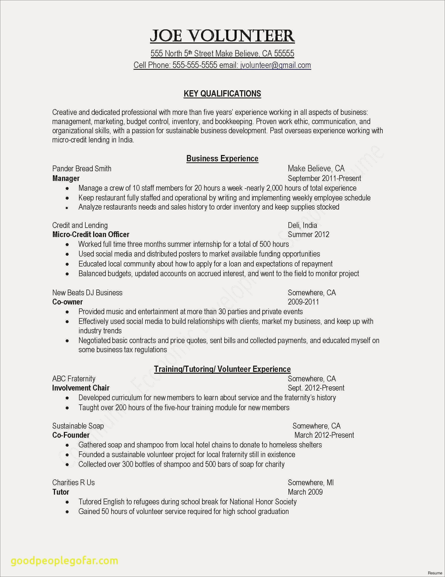 Writing A Resume Summary - Resume Summary Examples Beautiful Fresh Grapher Resume Sample