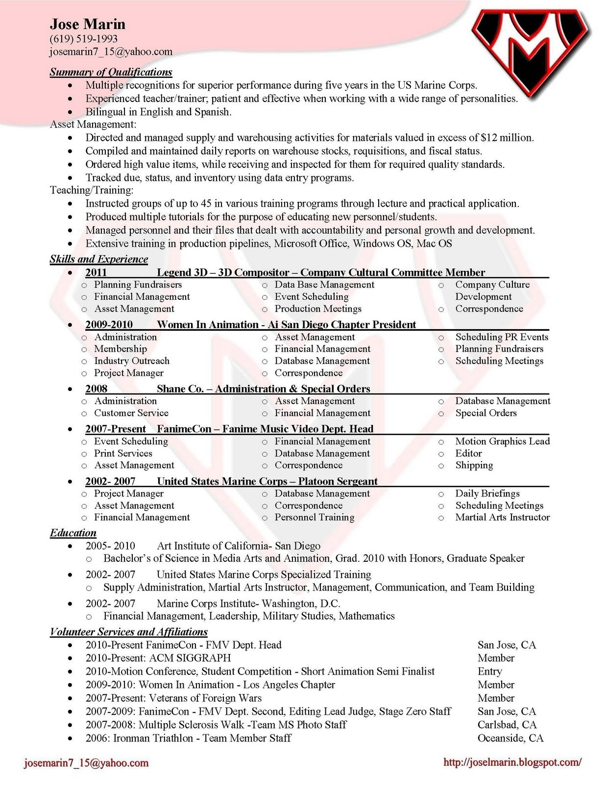 Yahoo Ceo Resume - 15 Awesome Entry Level Resumes