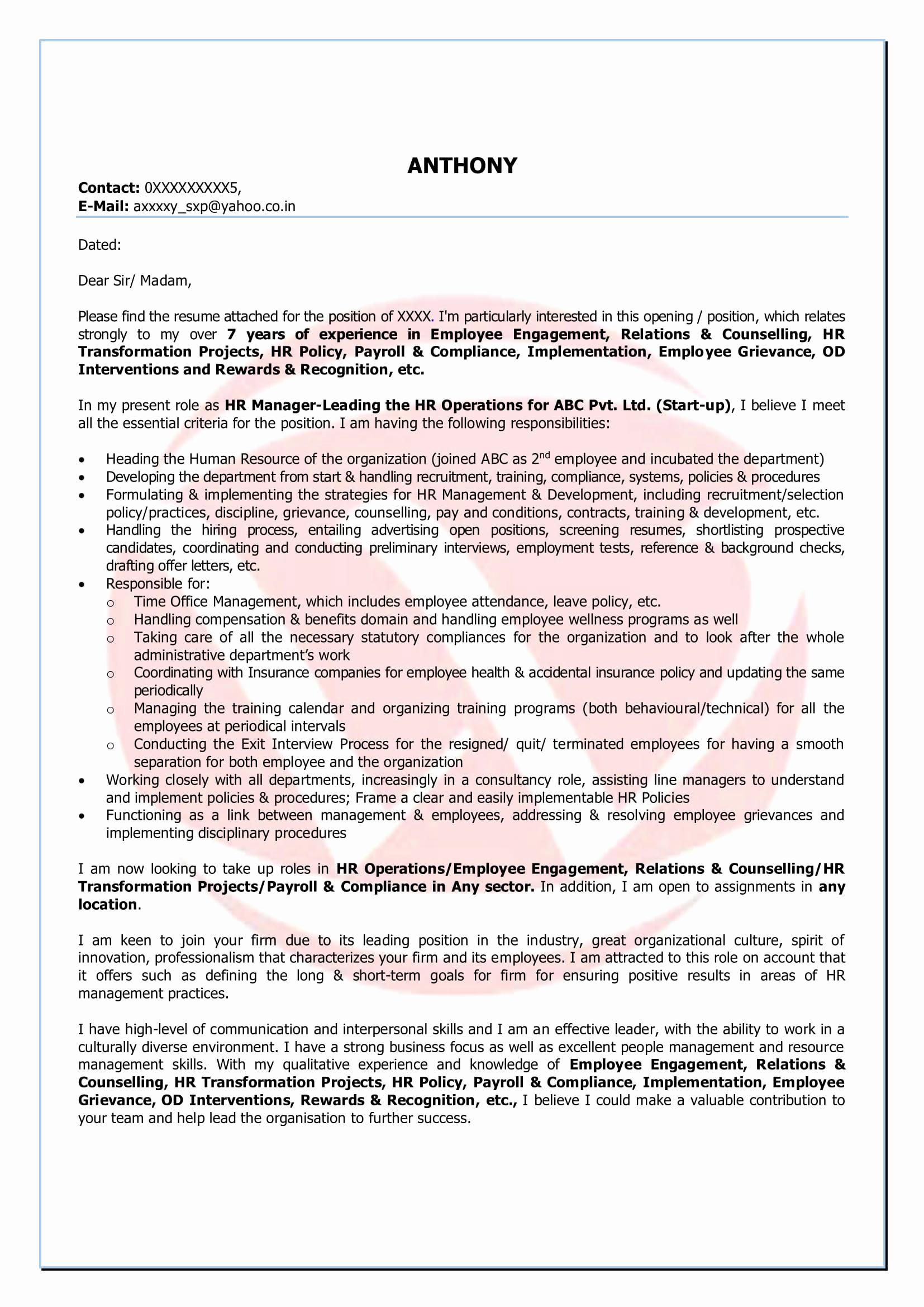Yahoo Ceo Resume Template - Resume format for 3 Years Experience In Testing New 11 Luxury